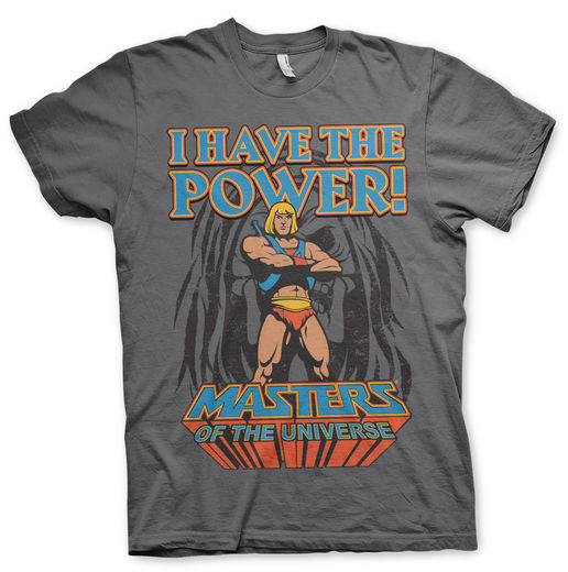 Masters of the Universe -I Have The Power- Miesten T-paita