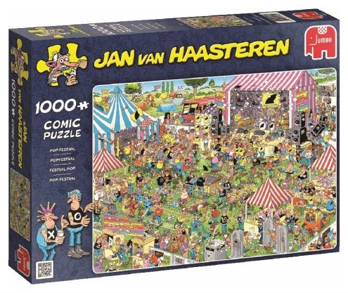 19028 Jan van Haasteren, Pop Festival - 1000 pcs