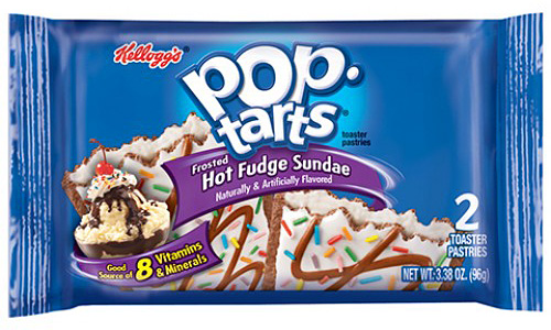 Frosted Hot Fudge Sundae Pop-Tarts