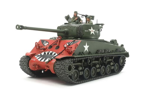 Us Medium Tank M4A3E8 Sherman 1/35